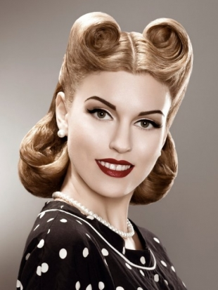 Strange 50S Hairstyles Short Pin Up Hairstyles Hair Tohair Short Hairstyles For Black Women Fulllsitofus
