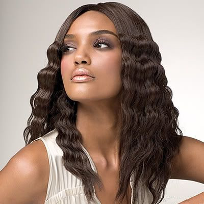 How to crochet a hair weave hair tohair part your hair in the manner that you want to style your crochet weave for example if you want a middle part then part your hair as close to the middle pmusecretfo Images
