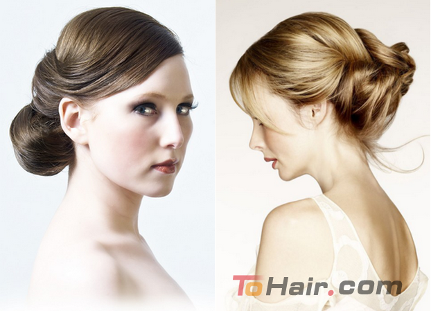 Hairstyles For One Shoulder Dresses Hair Tohair