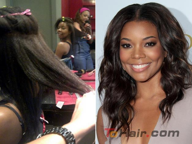 Celebrities Without Weaves Hair Tohair